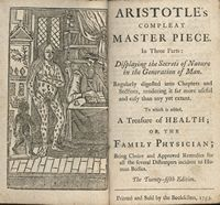 Image from Aristotle's Compleat Master Piece