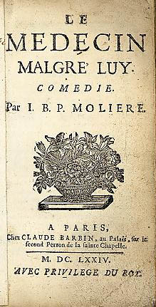 Image from Moliere's Le medecin malgr� luy
