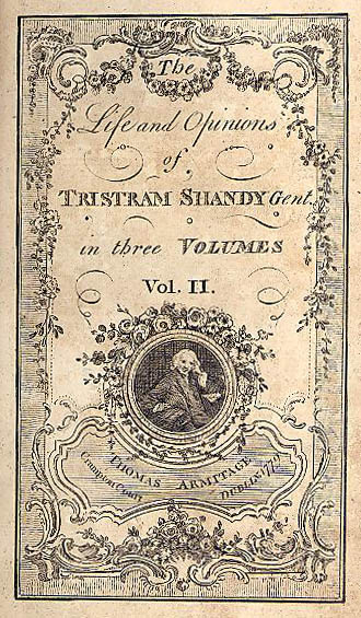 Image from Sterne's Tristram Shandy